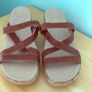 Adorable croc sandals